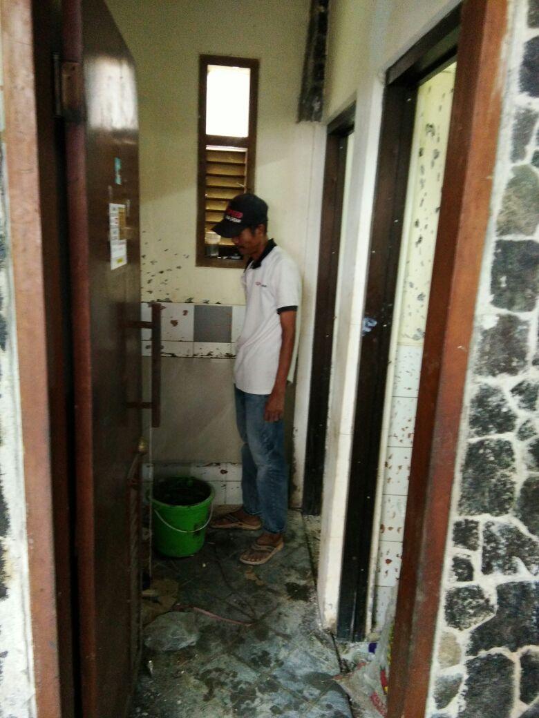 Renovasi Toilet, dari 97 untuk kampus tercinta